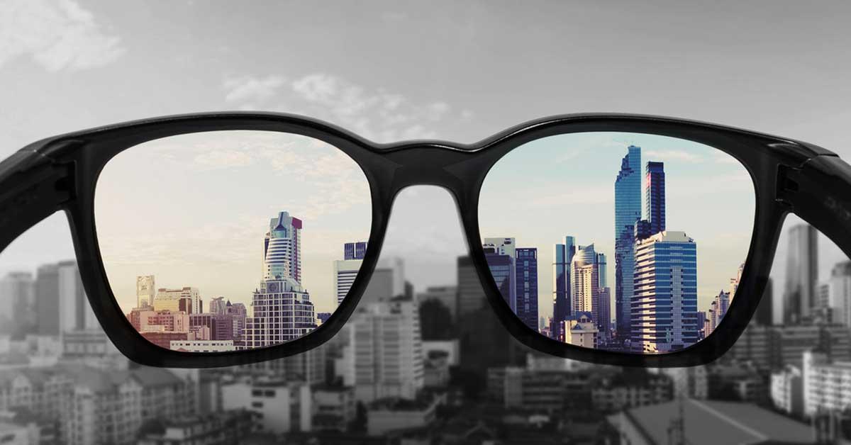 Point of view eller berättarperspektiv.